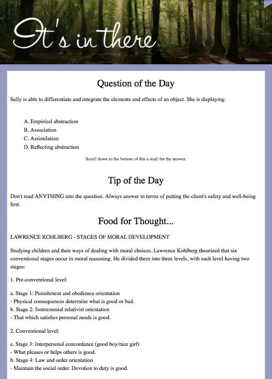 food safety test answers